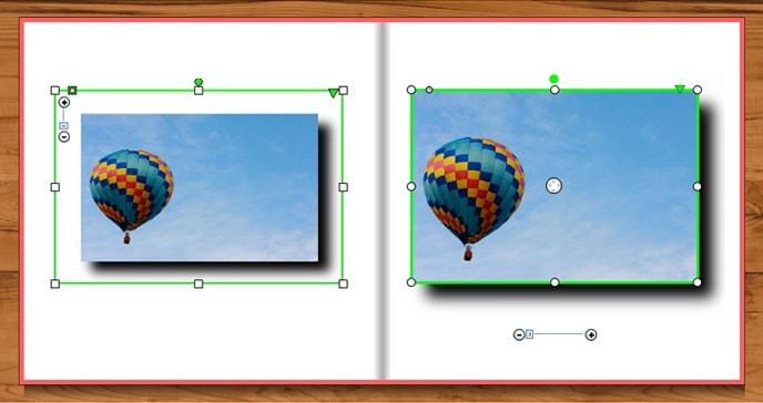 Photo book creator tool update for Windows - better shadow feature