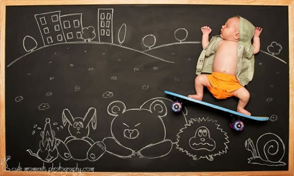 chalkboard-advenutres-of-a-baby-4-600x360