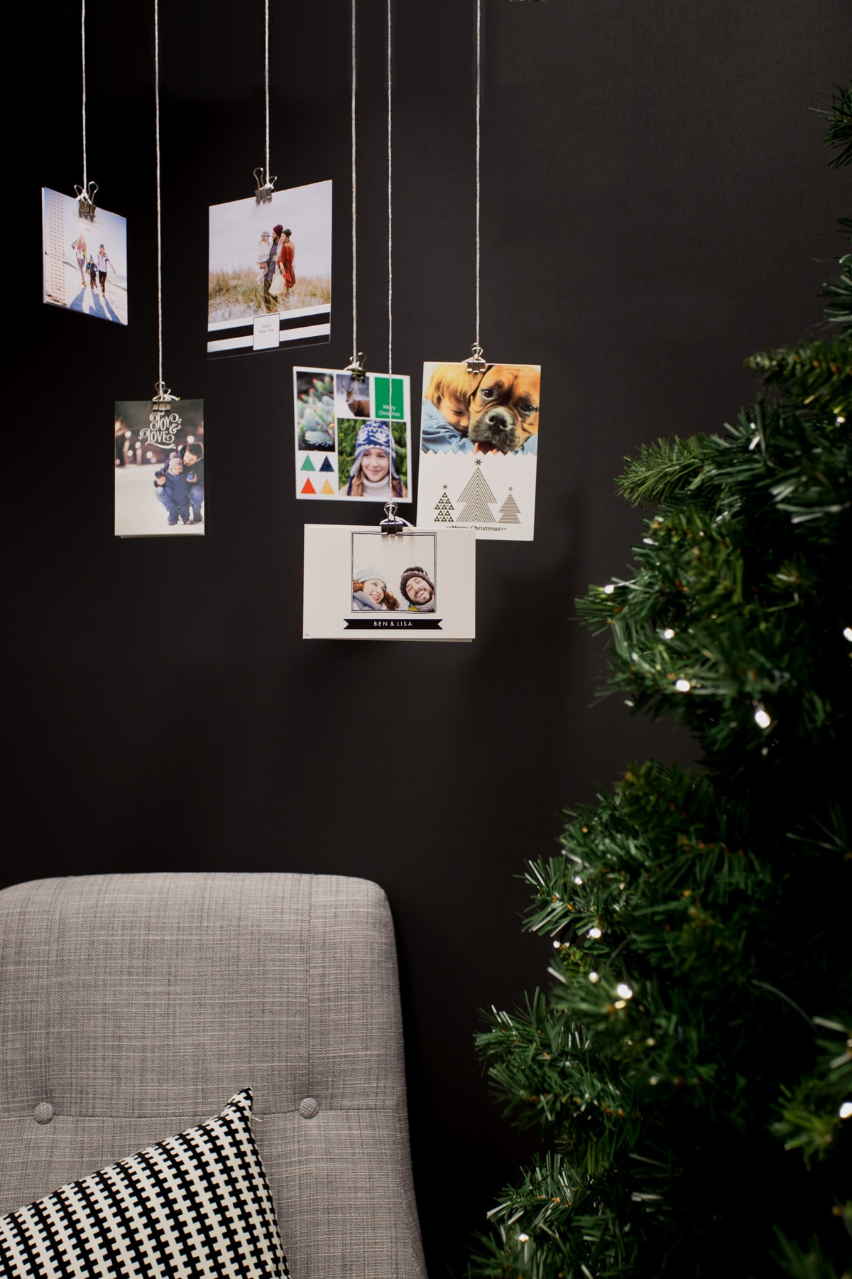 Ways To Display Christmas Cards With Ways To Display