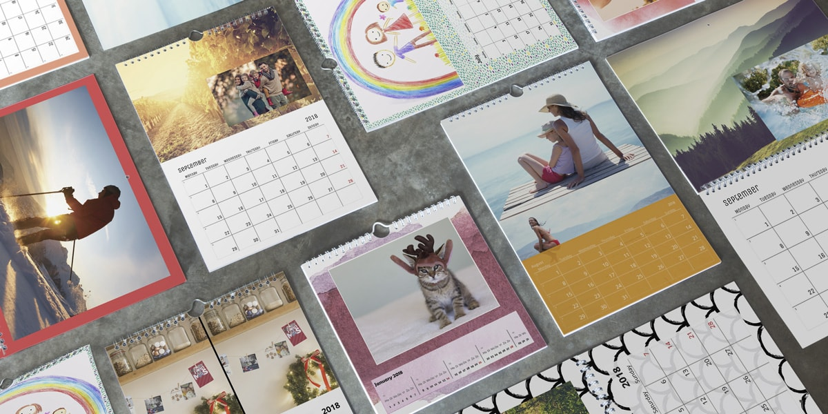 personalised calendar ideas