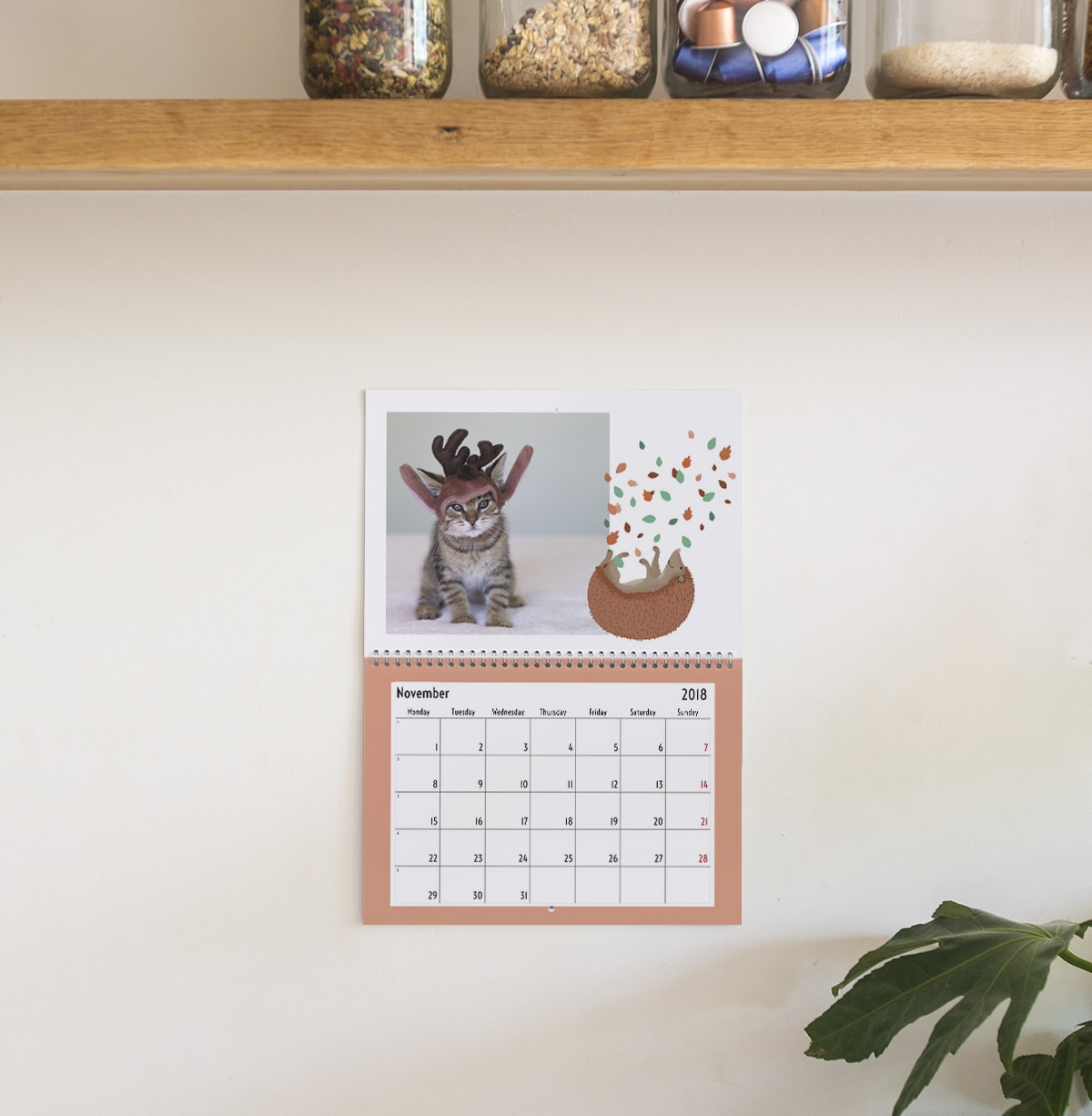 pets photo calendar ideas