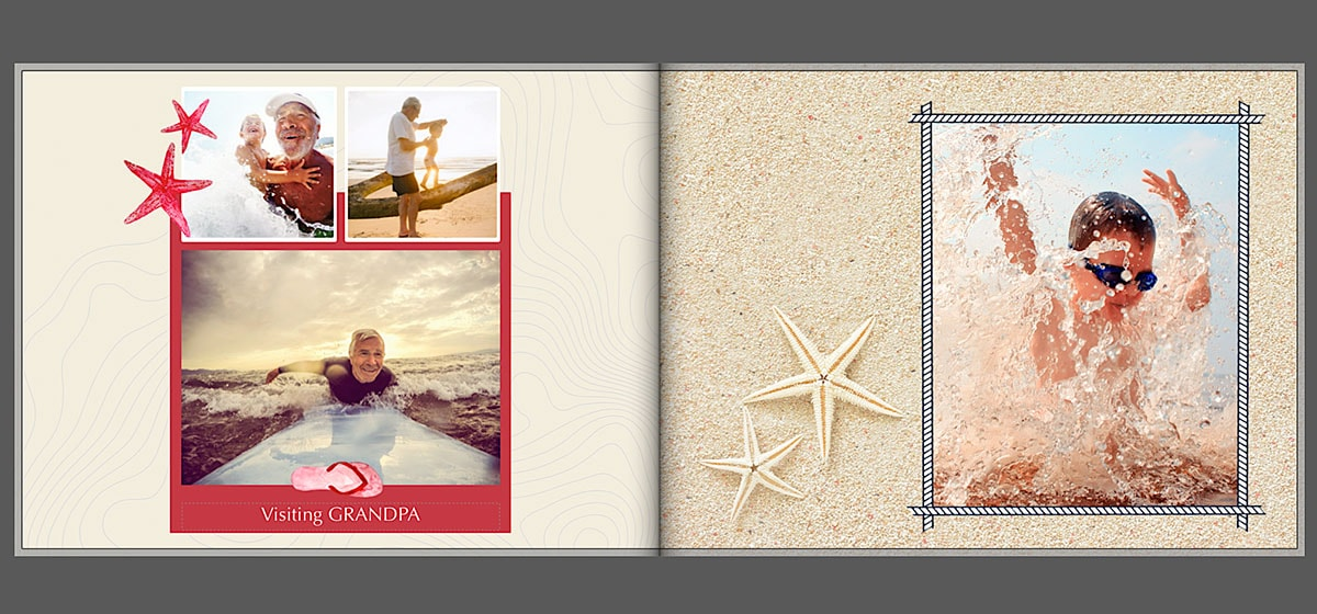 Holiday photo album text ideas