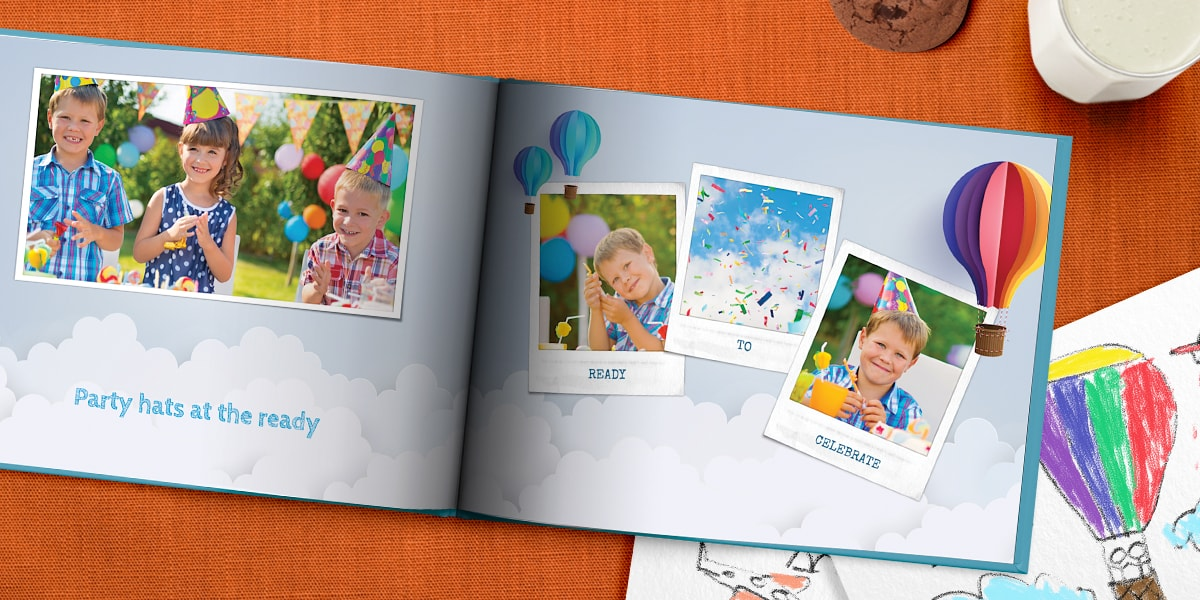 birthday photo book