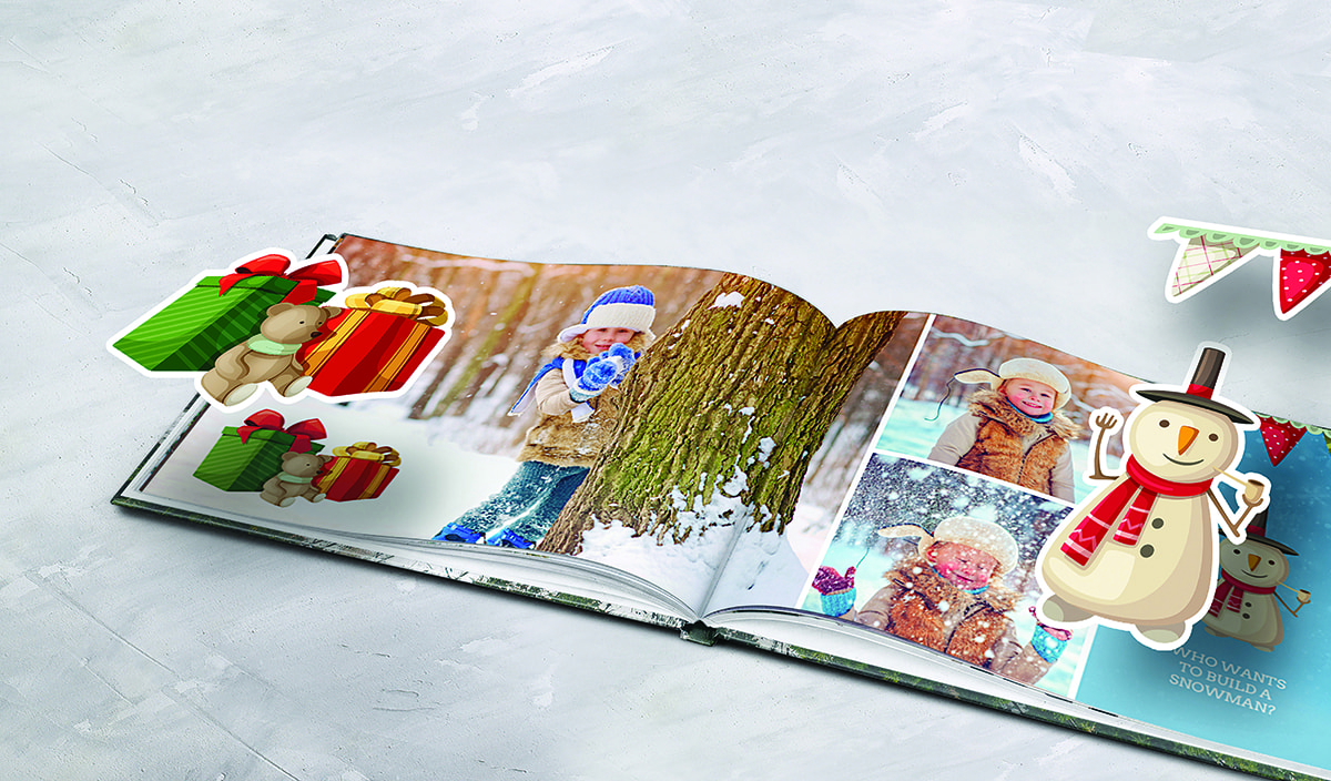 winter photo product photo book