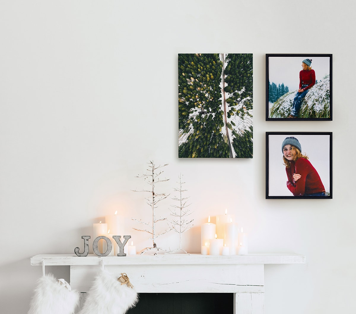 winter photo product wall art