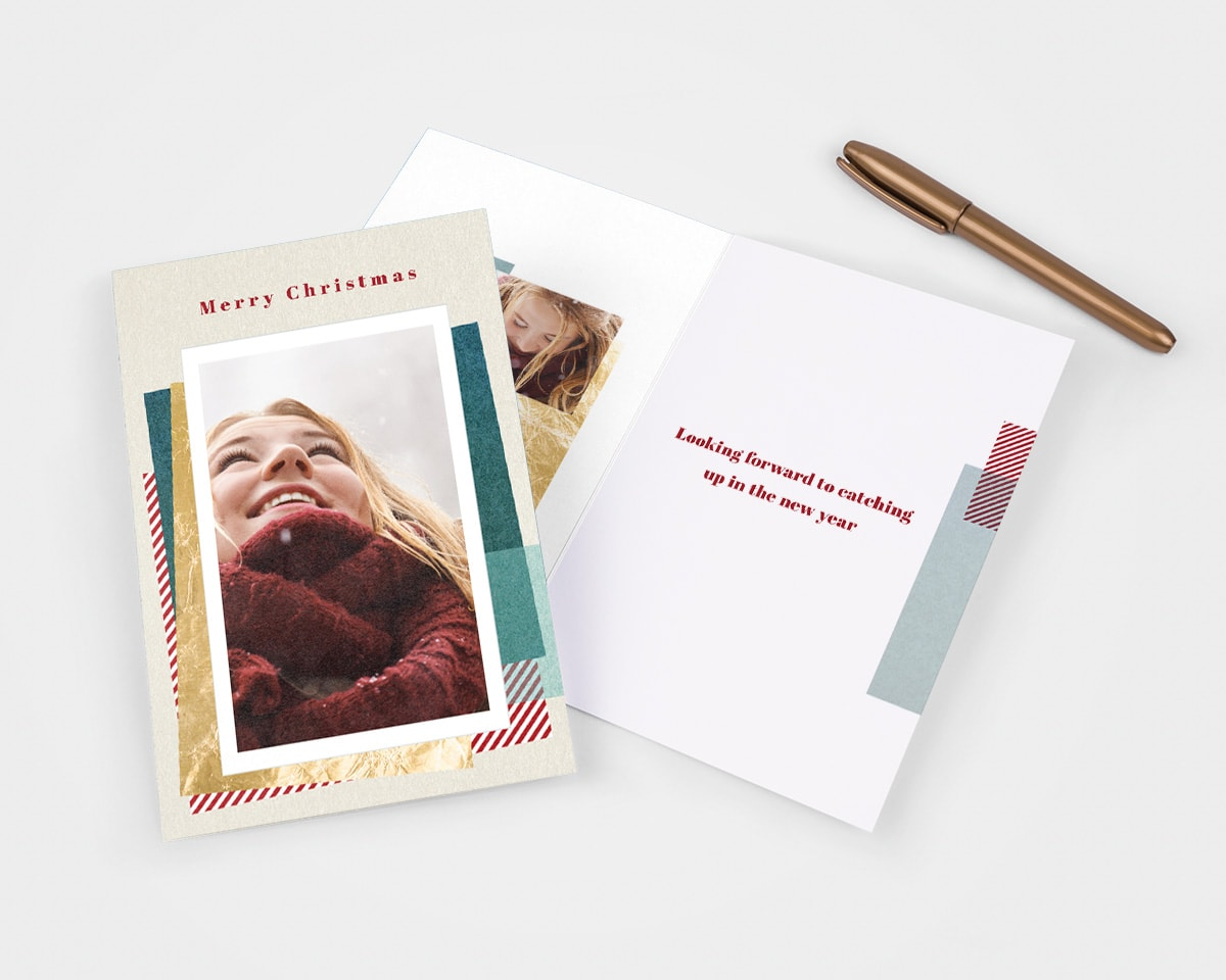 write in christmas card ideas friends
