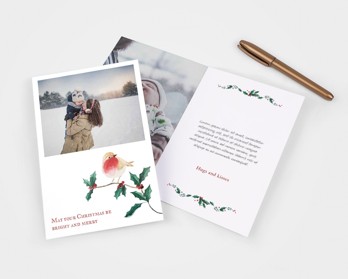 write in christmas card ideas signing off
