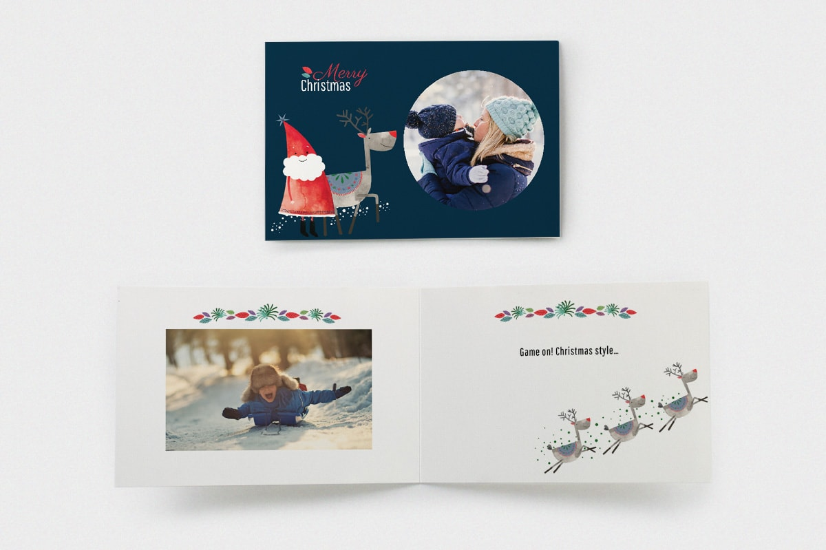Christmas-party-ideas-happy-santa-card