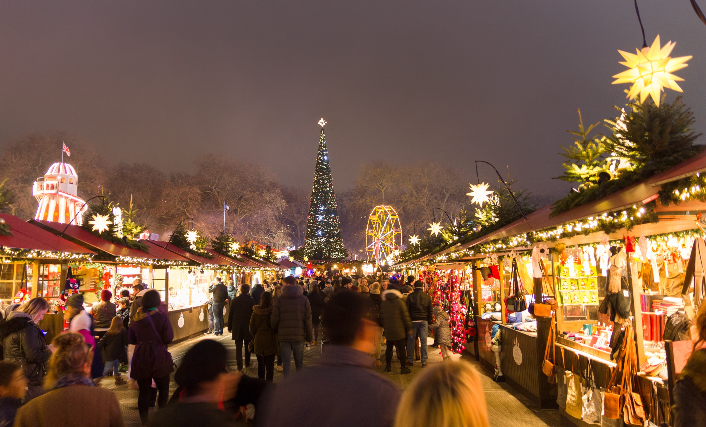 European christmas market london