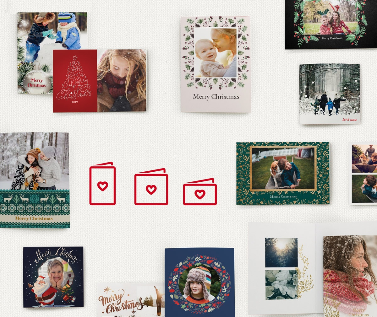 how to make a christmas card choosing a card