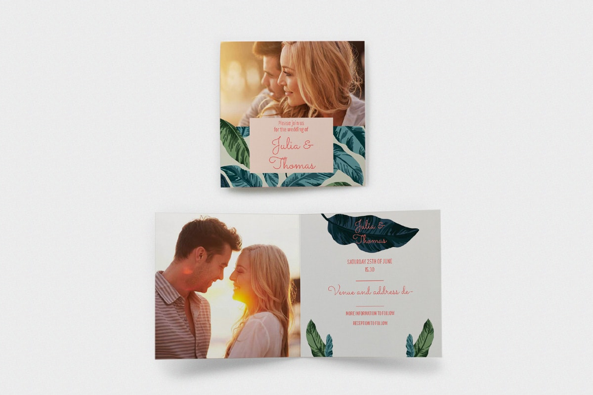 themed-wedding-invite-ideas-Tropical