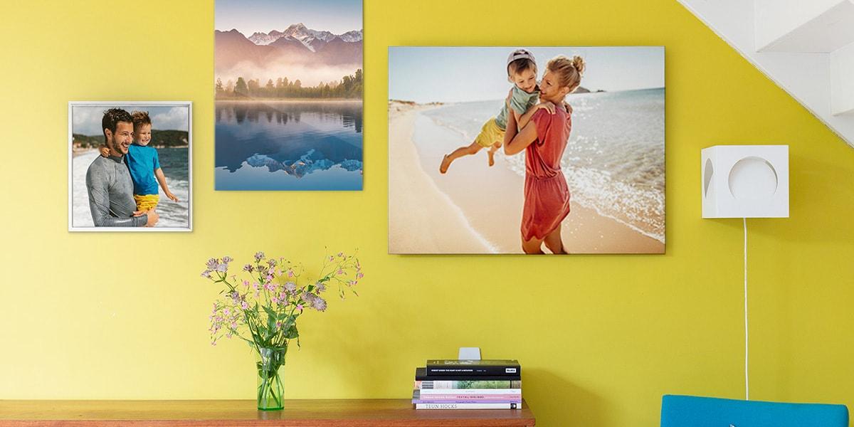 18 creative wall art ideas for every room in the house | bonusprint blog