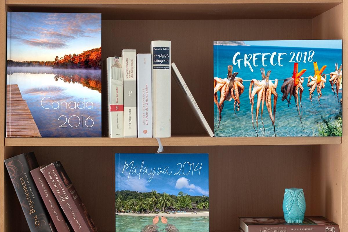 creative-ways-display-photo-books-book-wall