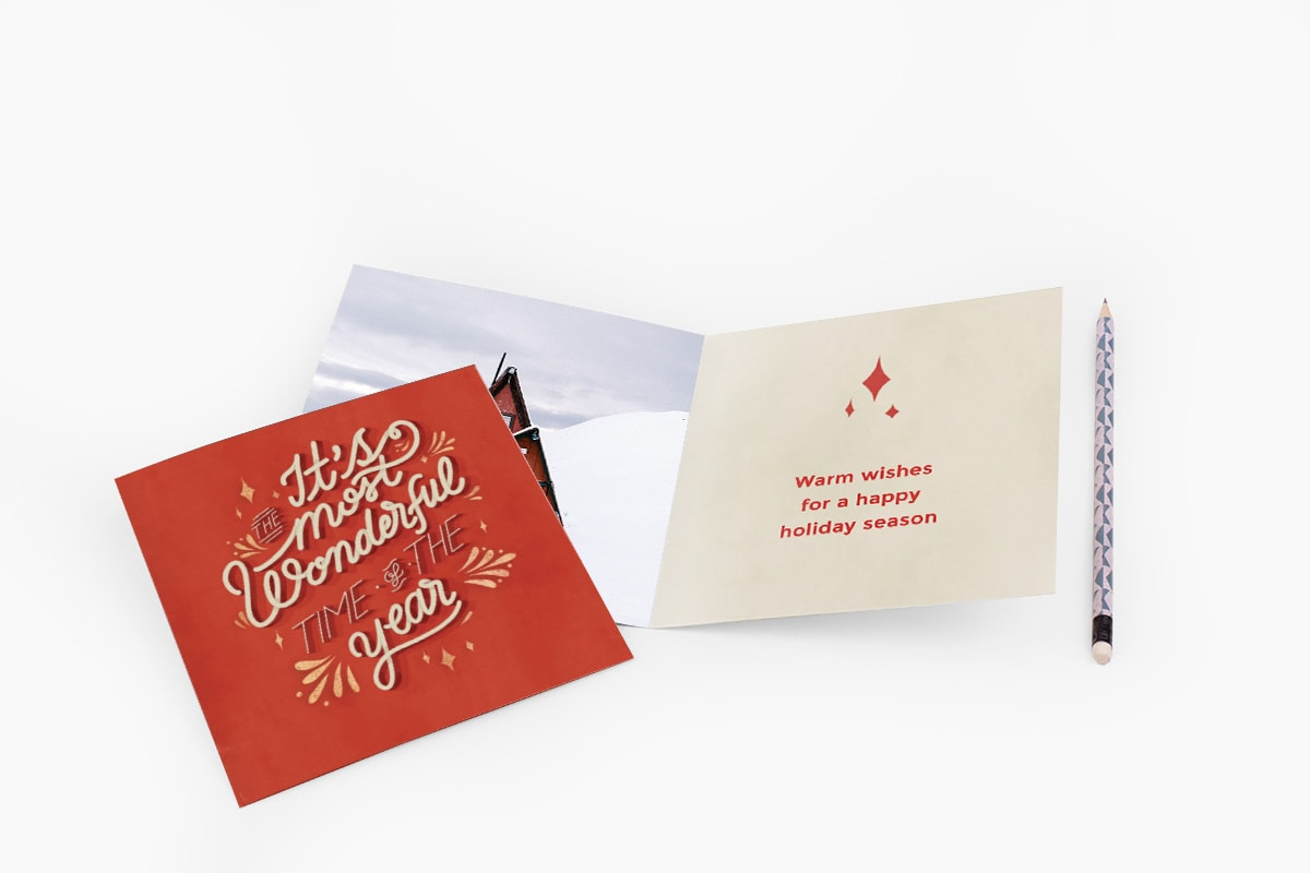 Nine ideas for what to write in a Christmas card | bonusprint