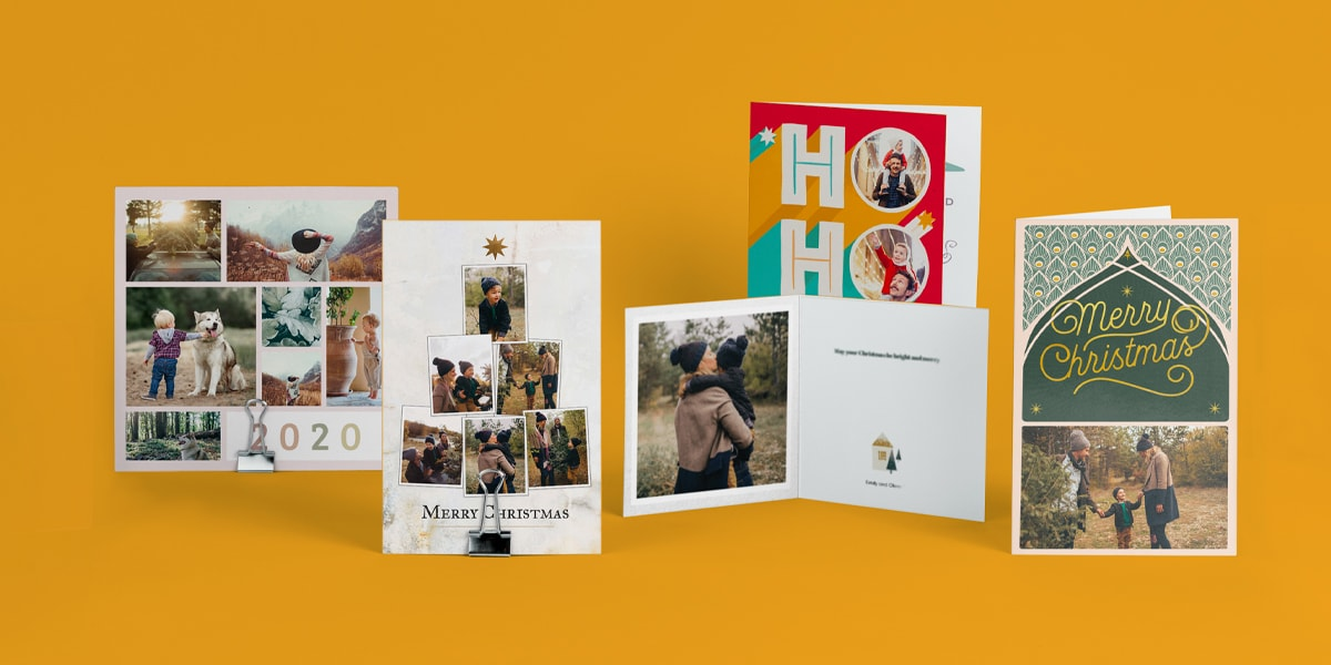 Making A Personalised Christmas Card Is Simple With Bonusprint