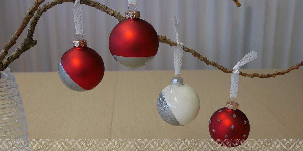 Sch ne weihnachtskugeln selber basteln 5 einfache schritte albelli blog - Weihnachtskugeln selbst gestalten ...