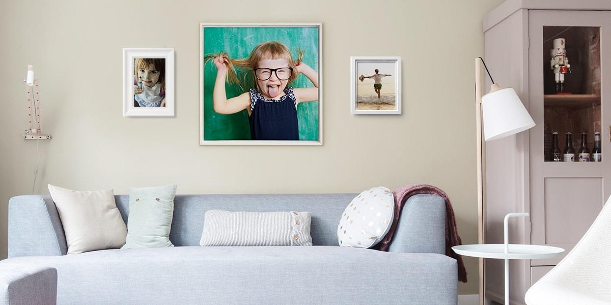 So gestaltest du eine Fotowand und verleihst deinem Wohnraum neues ...