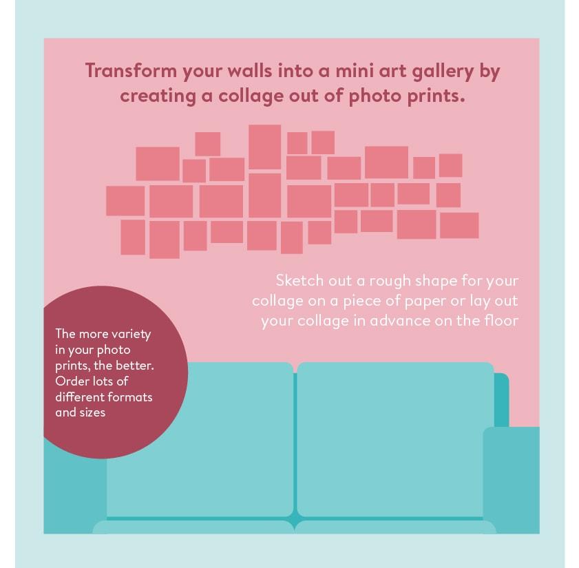 So Gestaltest Du Eine Fotowand Und Verleihst Deinem Wohnraum Neues