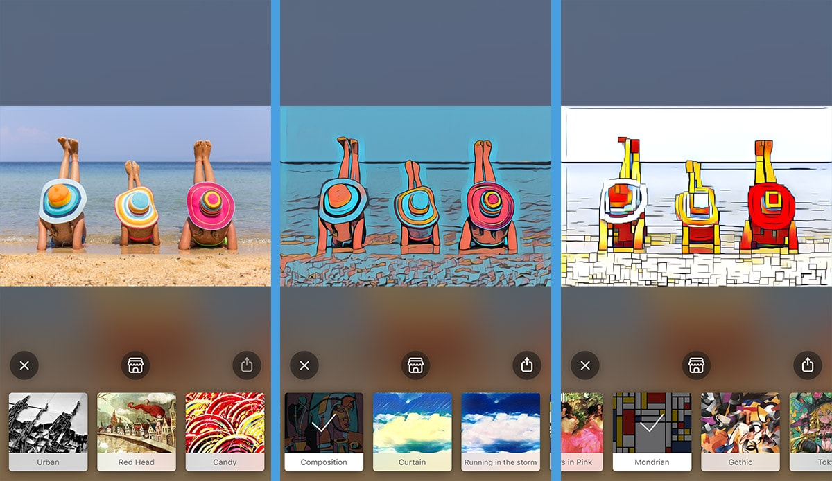 Apps bilder unscharf machen