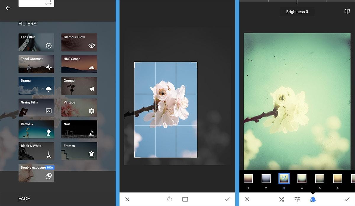 App portrait hintergrund unscharf
