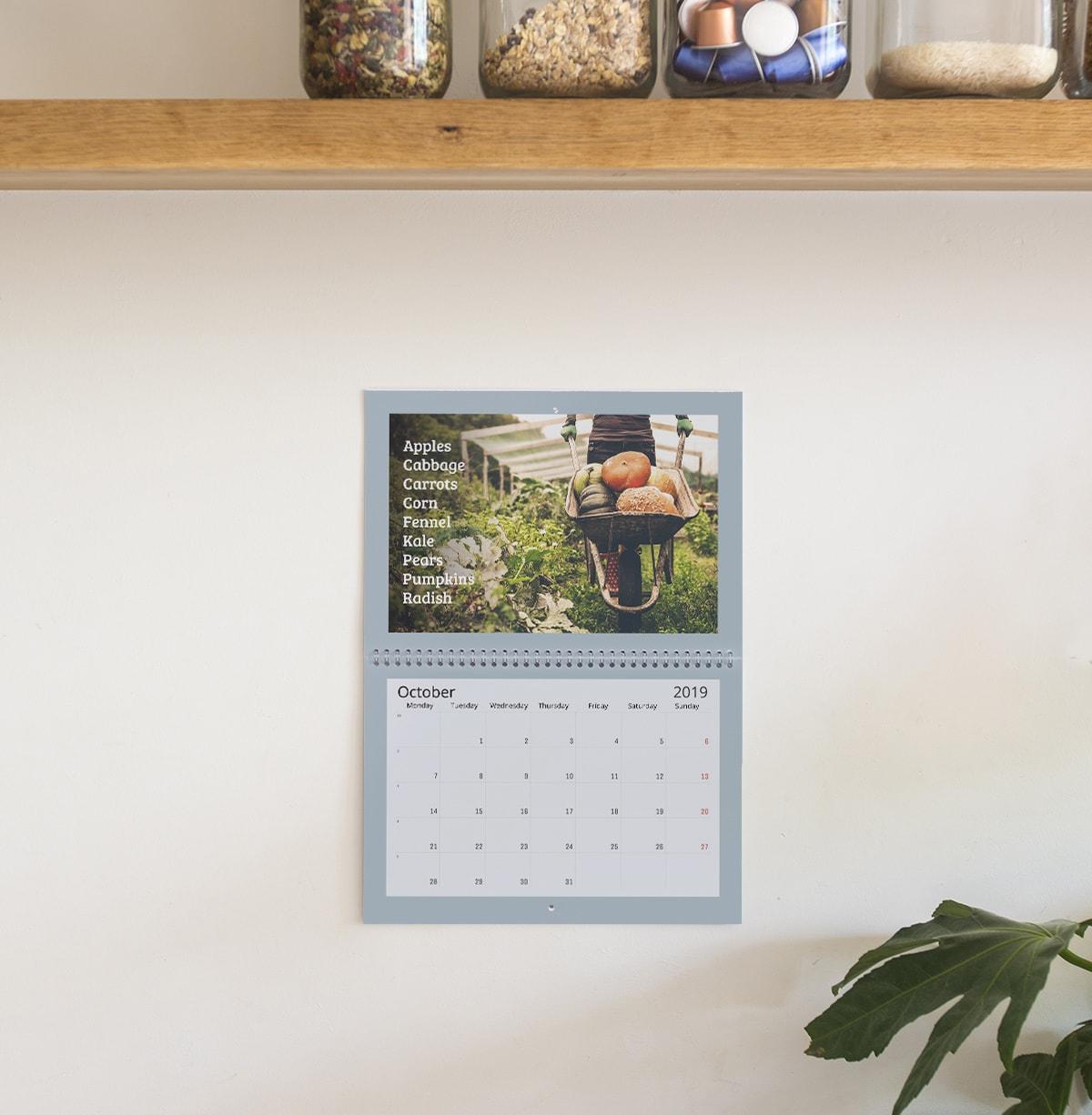7 kreative fotokalender ideen f r pers nliche fotogeschenke. Black Bedroom Furniture Sets. Home Design Ideas