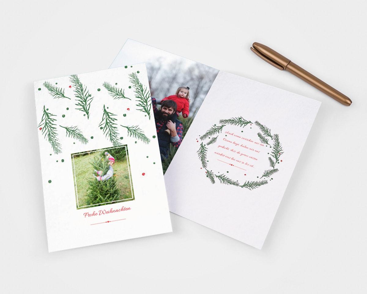 7 herzliche Textideen für Weihnachtskarten | albelli blog