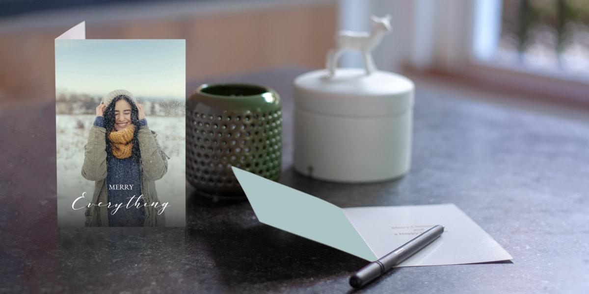 7 ideen f r weihnachtskarten mit denen deine kreationen alle anderen garantiert in den schatten. Black Bedroom Furniture Sets. Home Design Ideas