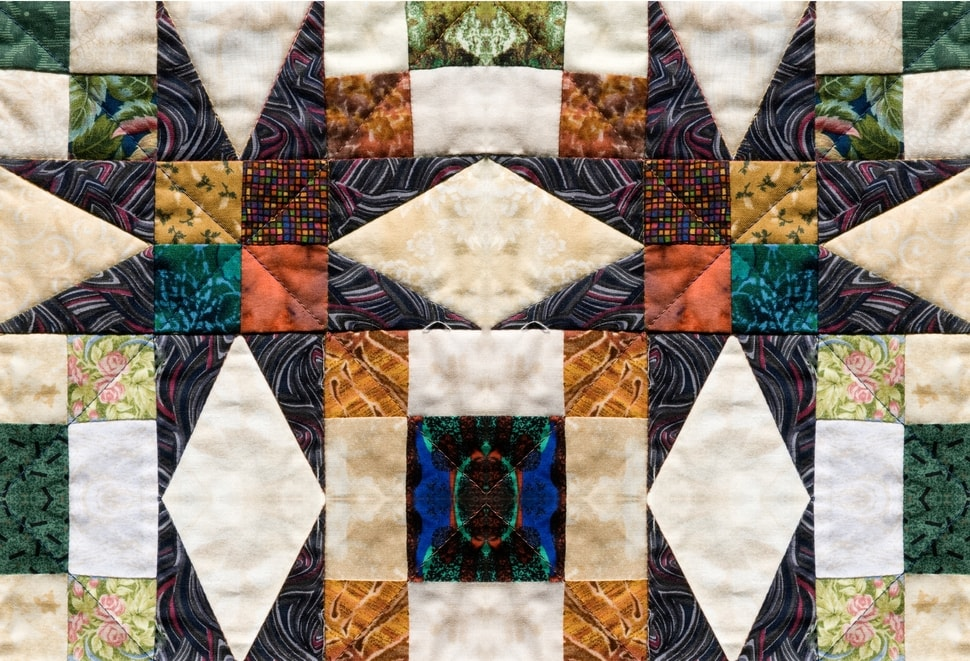 La toile patchwork - Inspirations toiles photo
