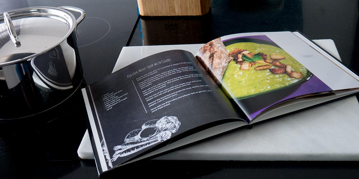 8 tapes simples pour cr er un livre de recettes personnalis albelli for Creer un livre de cuisine personnalise