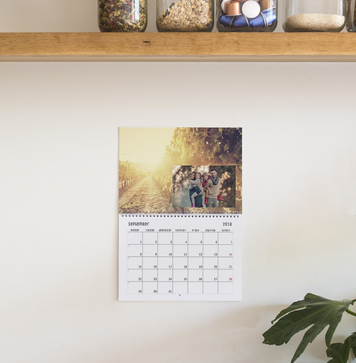 seasonal photo calendar ideas