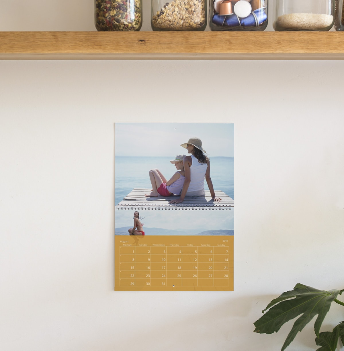 travel photo calendar ideas