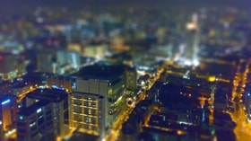 Singapore2 met tilt shift