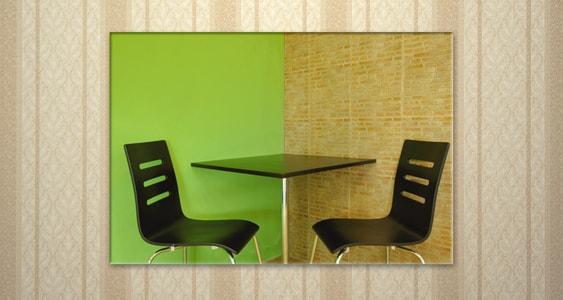 Minimalistisch interieur wanddecoratie wanddecoratie