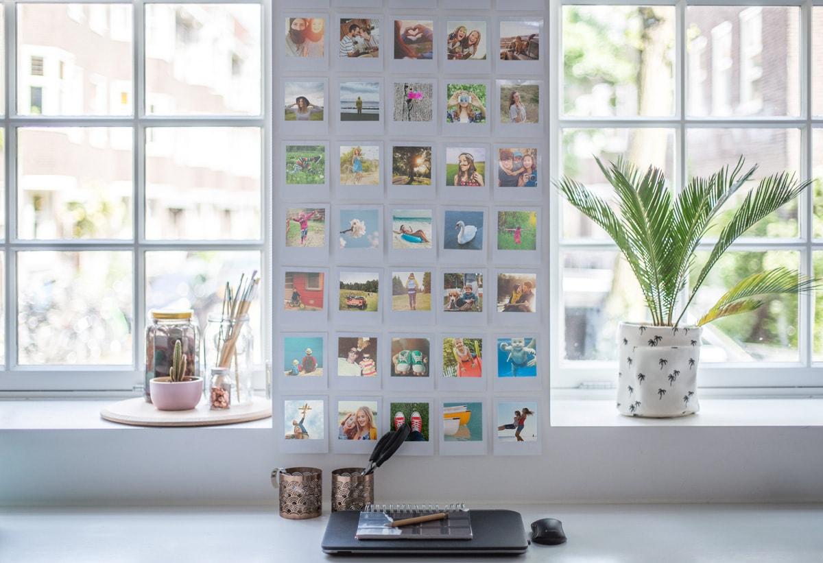 9 unieke en stijlvolle doe het zelf idee n om je huis op te fleuren met retro fotoafdrukken. Black Bedroom Furniture Sets. Home Design Ideas