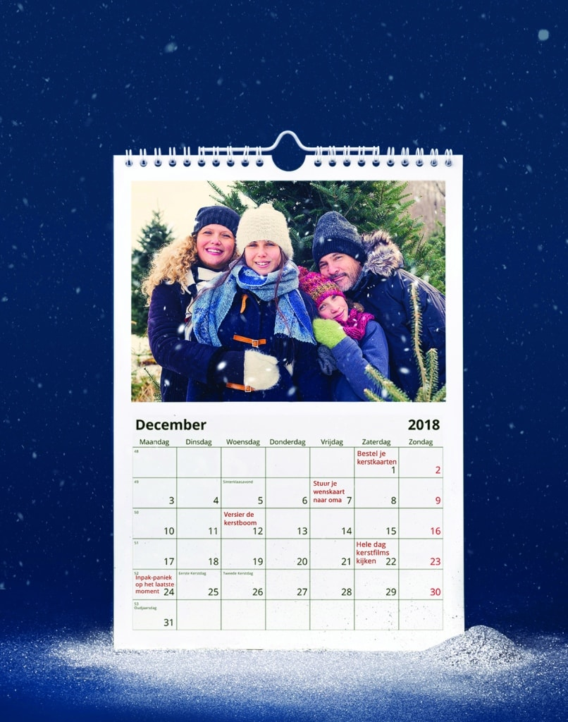winter fotoproduct kalender