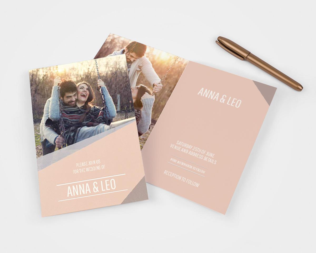 13 trouwkaart ideeën voor elke soort bruiloft albelli