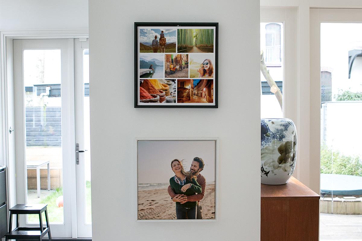 Nieuwe indelingen voor wanddecoratie om van je fotos een kunstwerk