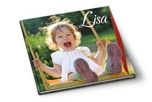 Fotoboek foto op kaft