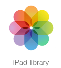 iPad library