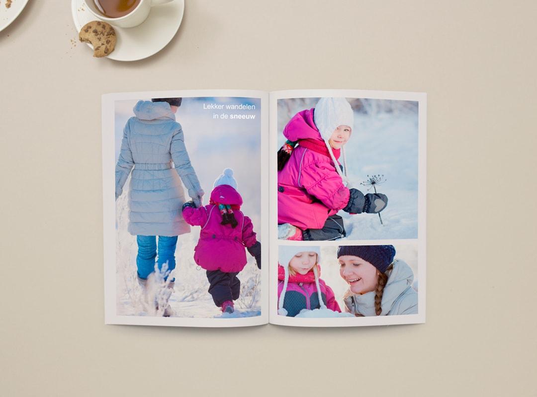 Fotoboek zachte kaft