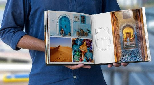 25% korting op fotoboeken