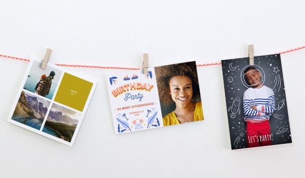 Enkele fotokaarten