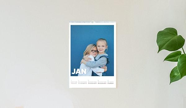 A4 fotokalender