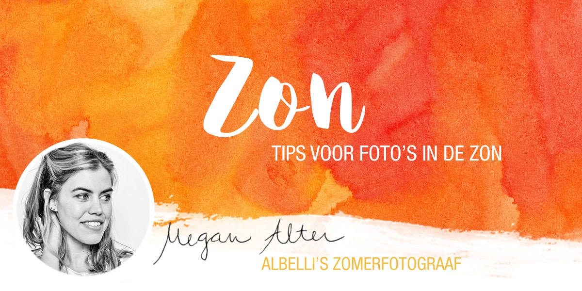 Tips voor foto's in de zon