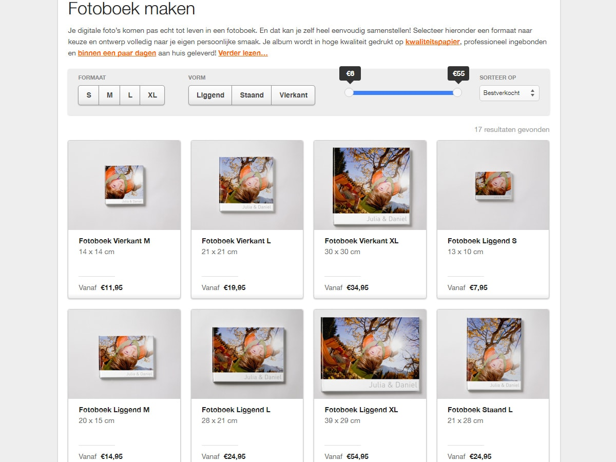 screenshot fotobibliotheek