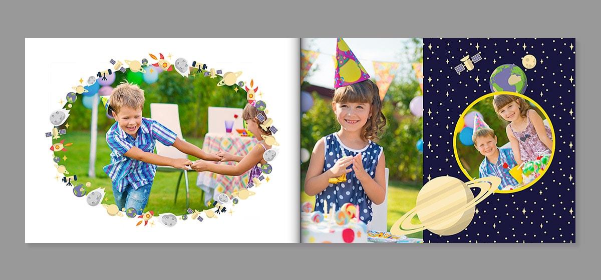 9 tips voor het maken van een fotoboek van een onvergetelijk verjaardagsfeestje albelli blog - Lay outs ruimte van de jongen ...