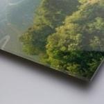 Plexiglass med oppheng