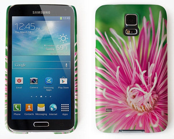 Personlig mobildeksel til Samsung