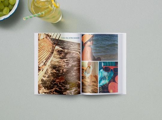Fotobok med stivt omslag 15x20cm