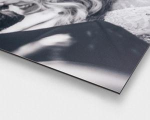 Aluminiumsplate med bilde